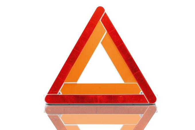 Nissan e-NV200 Evalia - Safety - Warning triangle