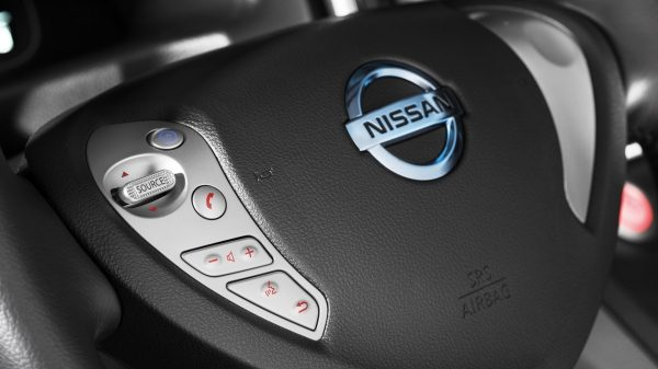 Nissan e-NV200 - USB input and bluetooth
