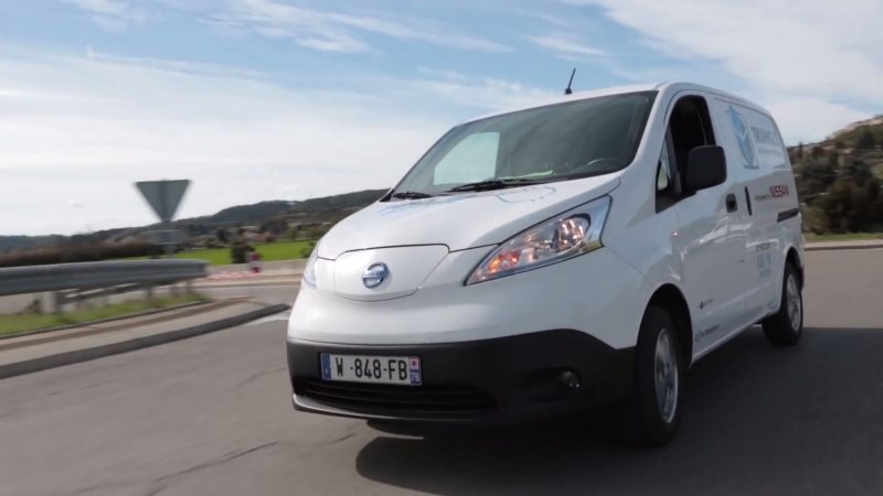 Nissan e-NV200 - In action