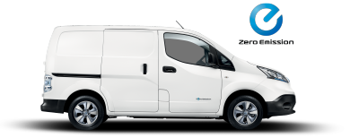 Nissan e-NV200 Van - Side view