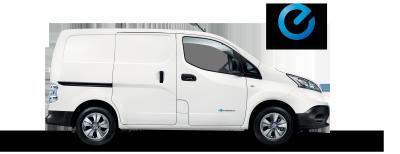 Nissan e-NV200 Van - Side view