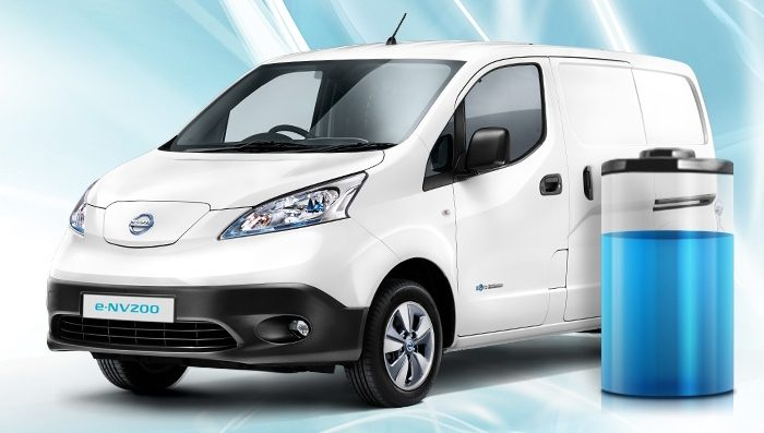 Van | Nissan e-NV200 | Lithium-ion battery