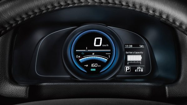 Nissan e-NV200 - Dashboard