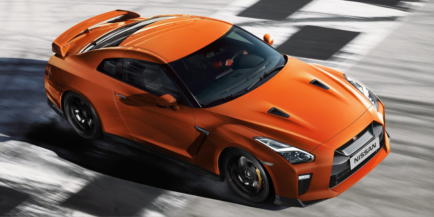 Nissan new GT-R