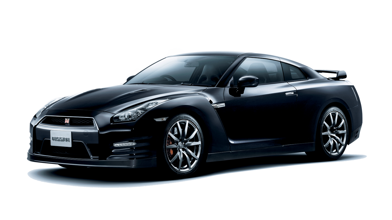 Nissan GT-R Black Edition - 3/4 front view
