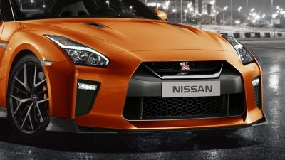 Nissan New GT-R front end
