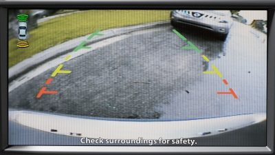 REARVIEW MONITOR – Nissan GT-R