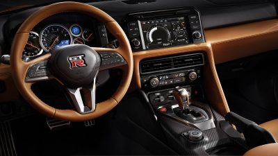 Nissan New GT-R interior