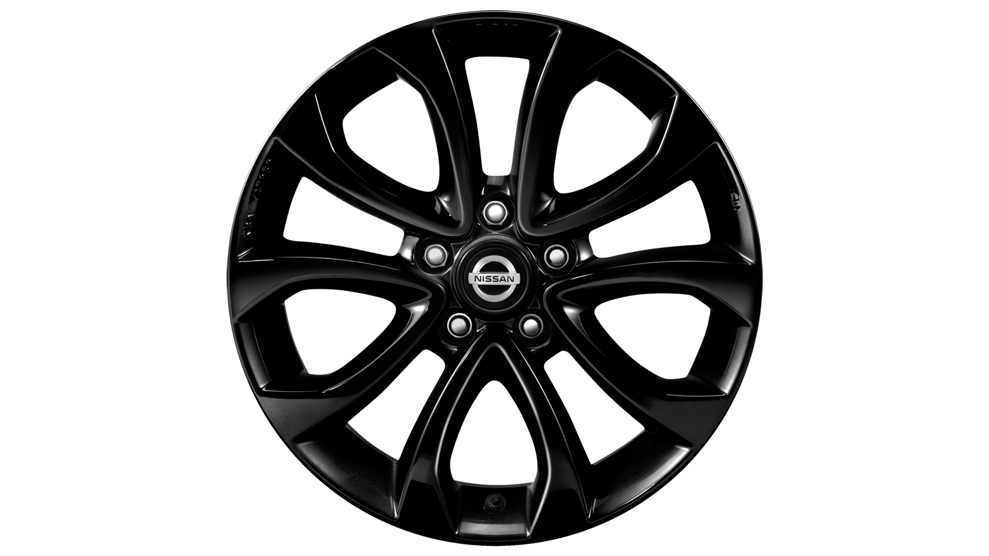 2018 Nissan JUKE 17 inch alloy wheel ATO black