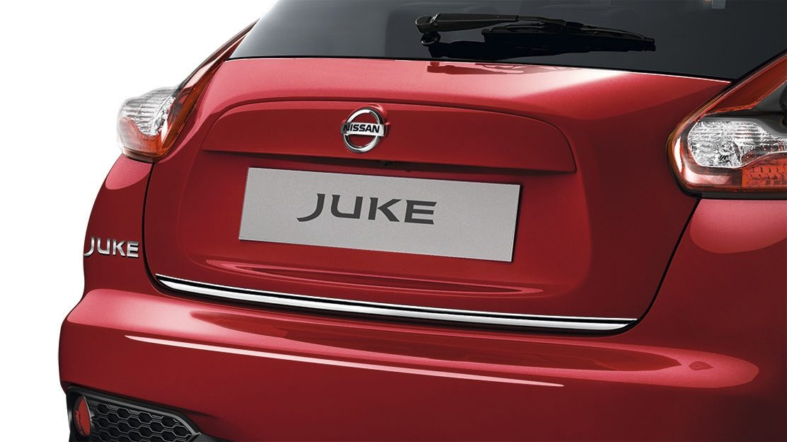 2018 Nissan JUKE back door lower finisher chrome