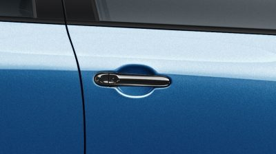 2018 Nissan JUKE door handle cover enigma black with i-key