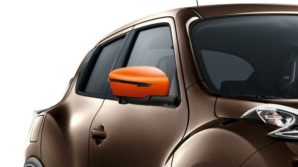 Nissan JUKE 2018 coque de rétroviseur orange racing