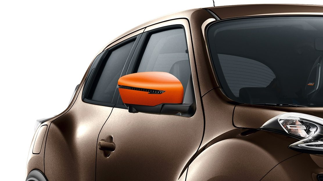 2018 Nissan JUKE mirror caps energy orange