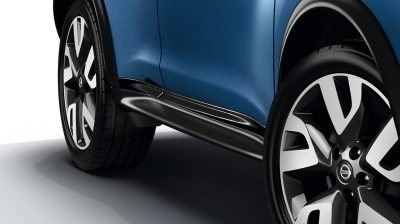 2018 Nissan JUKE side door sills enigma black