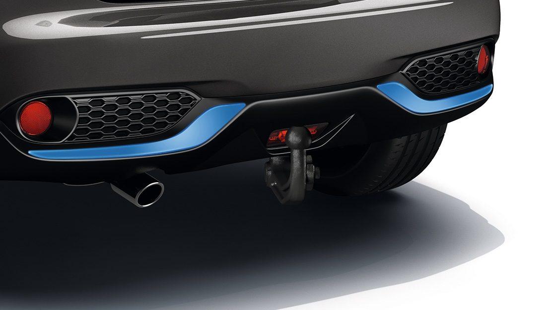 Nissan JUKE 2018: съемное тягово-сцепное устройство