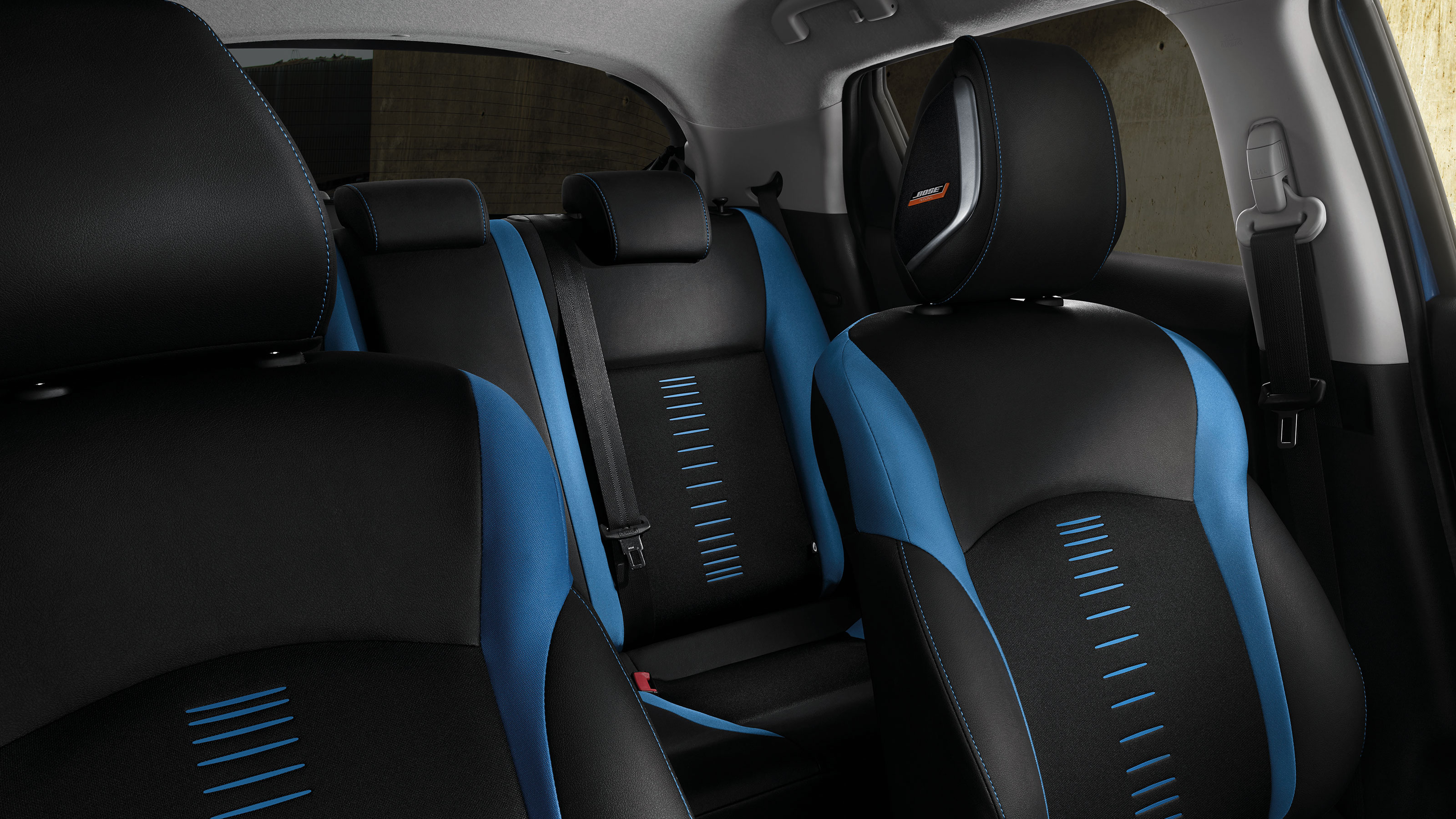 Nissan JUKE 2018, interior power blue
