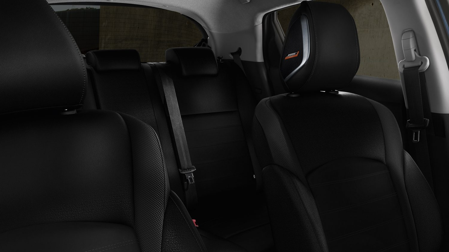 Nissan JUKE 2018 interieur met bekleding in Energy Orange