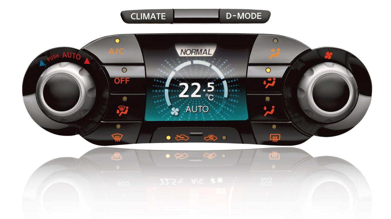 Nissan JUKE 2018: система кондиционирования воздуха