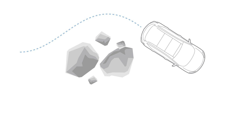 Nissan JUKE 2018: электронная система динамической стабилизации