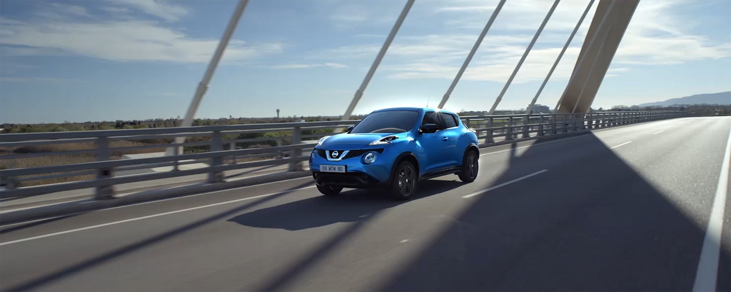 New Nissan Juke driving shot