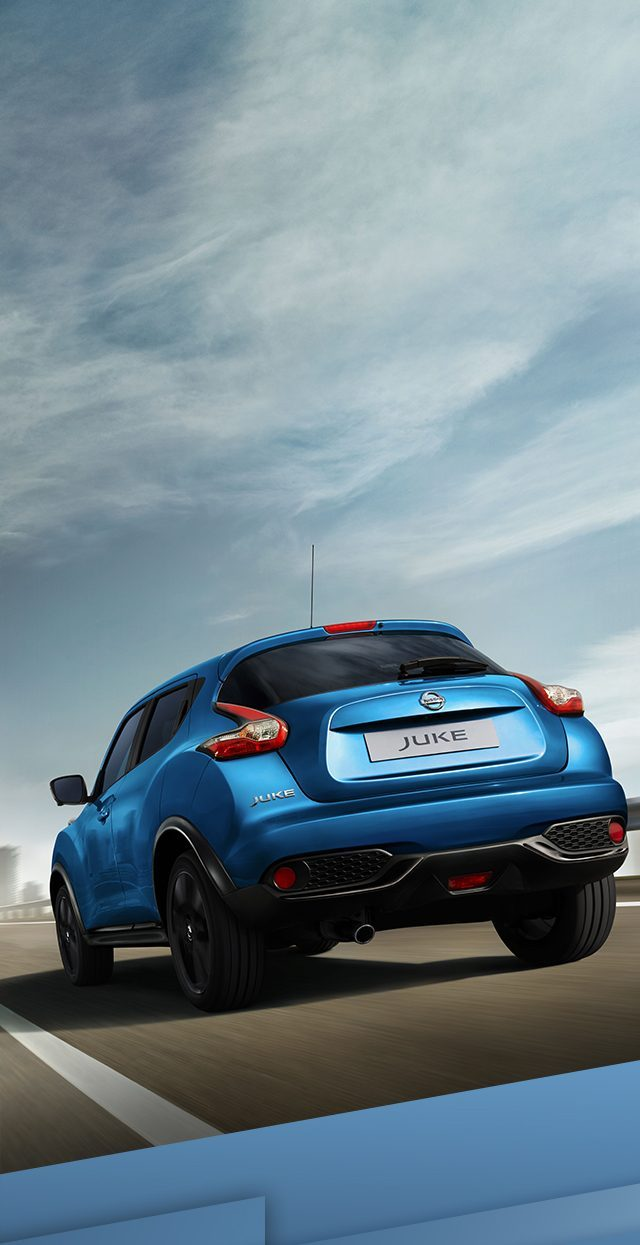 Nissan Juke 2018 Small Suv Compact New Design 2014 Steering Sunroof Wiring Diagram 3 4 Rear Driving Shot On The Highway