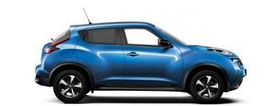 Nissan Juke - Side view