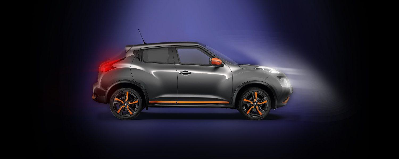 Nissan JUKE2018, вид сбоку