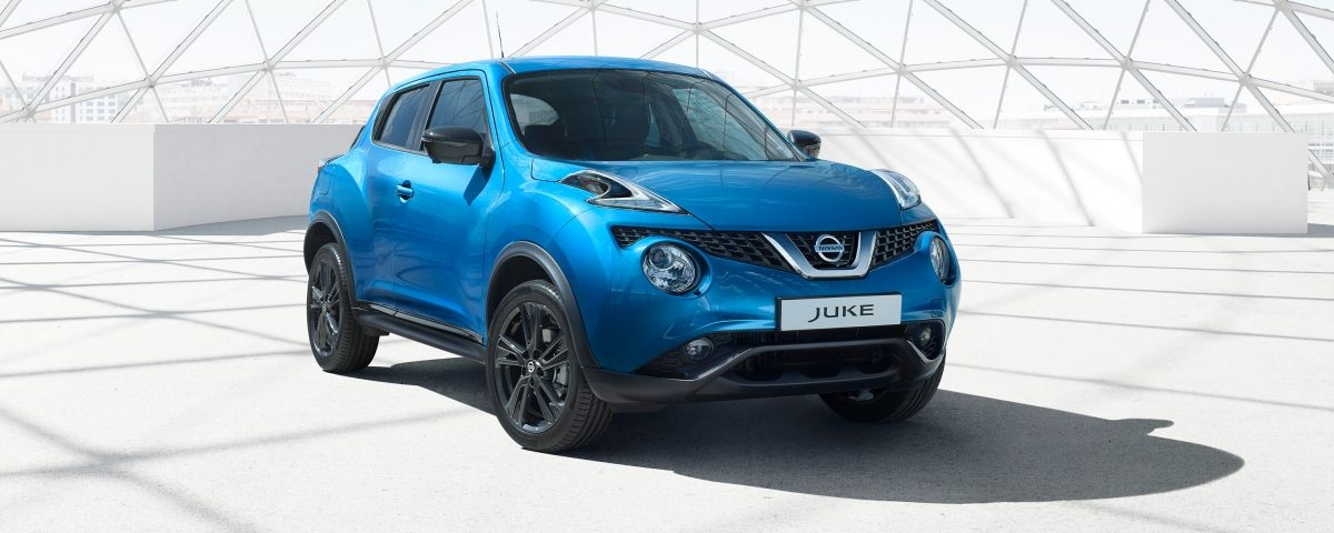 Nissan JUKE 2018 statique, vue de 3/4 face