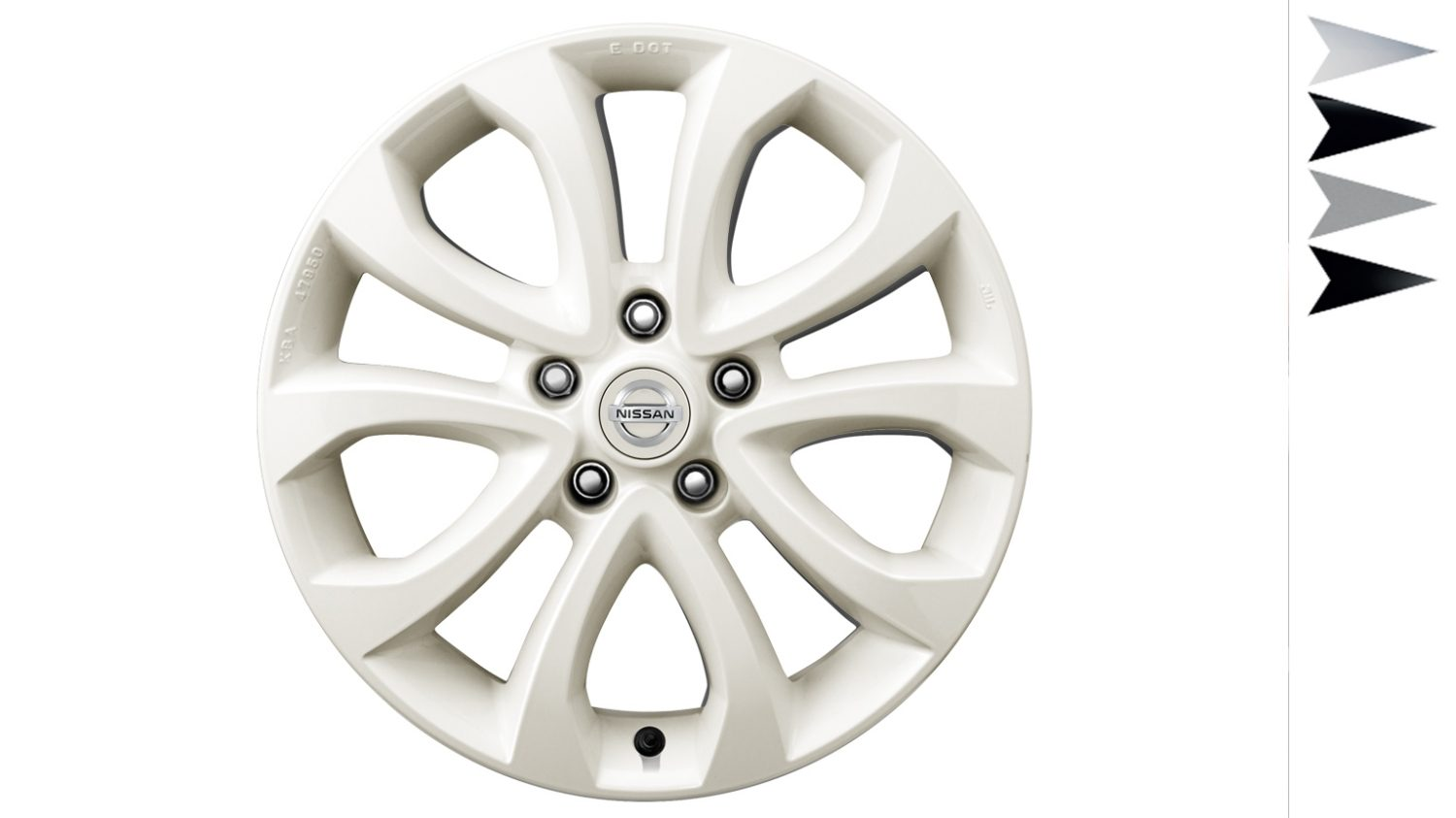 Nissan Juke - Personalisation - 17'' ato alloy wheel london white