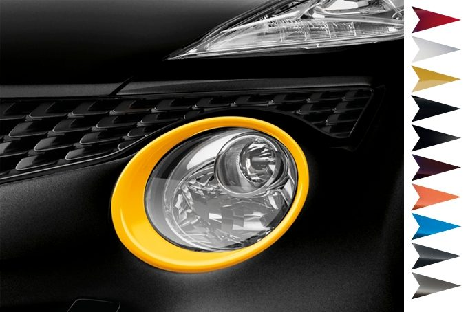 Nissan Juke - Personalisation - Headlamp finisher san diego yellow