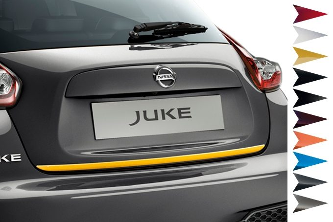 Nissan Juke - Personalisation - Trunk lower finisher san diego yellow