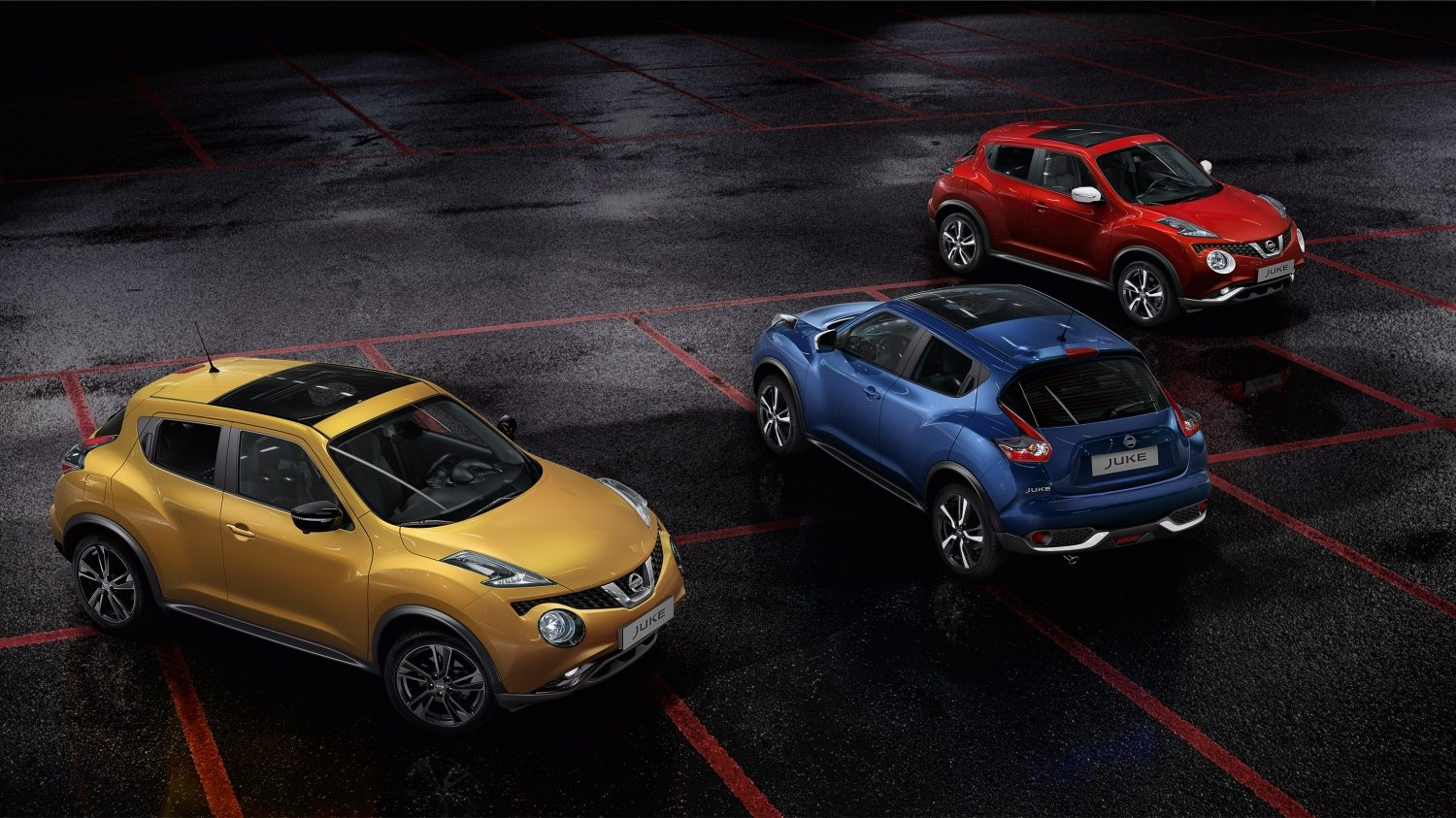 Compact & mini SUV design - The Juke Colour Studio | Nissan Juke