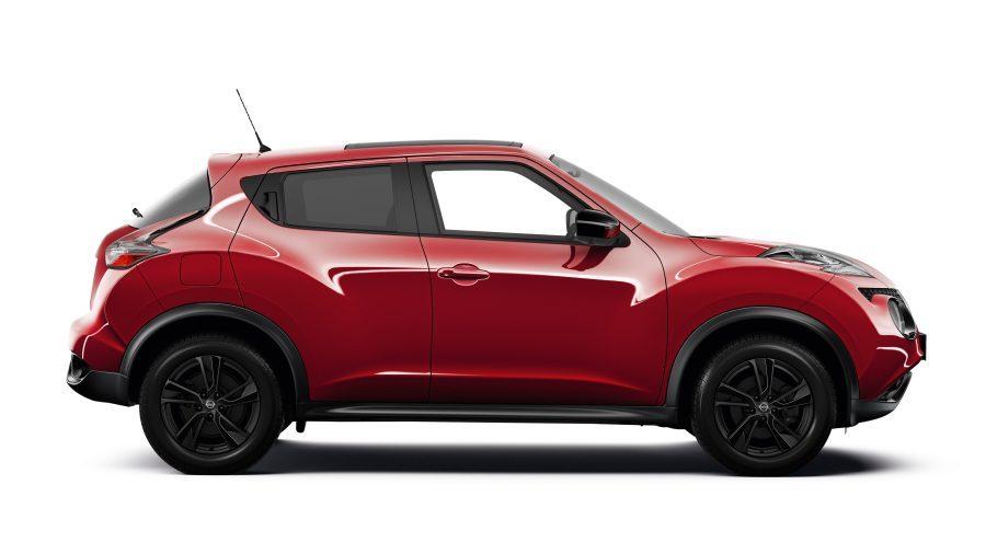 Модель Nissan JUKE— экстерьер— вид сбоку