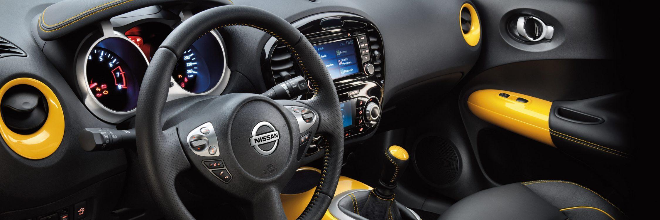 Nissan JUKE— вид изнутри