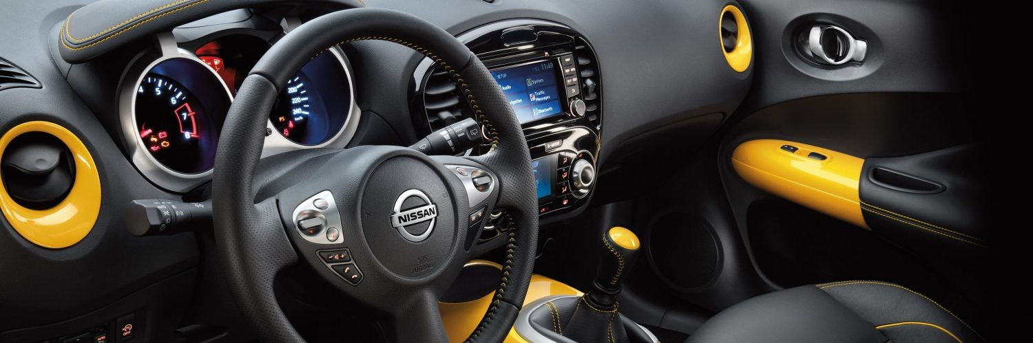Nissan Juke - interior view
