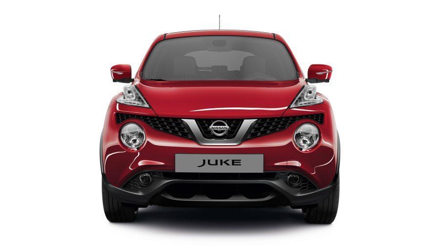 Nissan JUKE— экстерьер— решетка радиатора