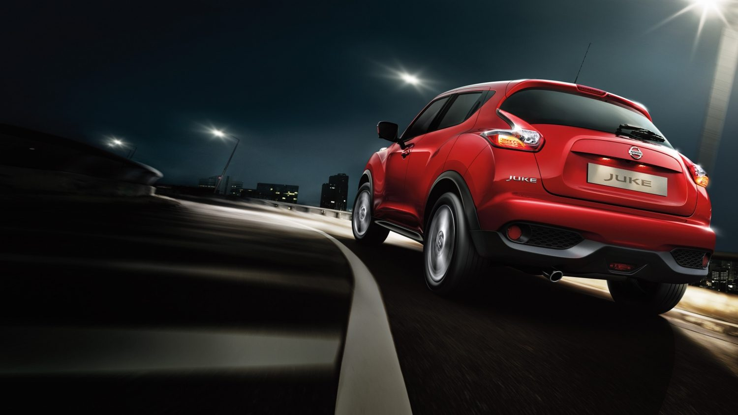 Nissan Juke Darkt Red - Compact crossover