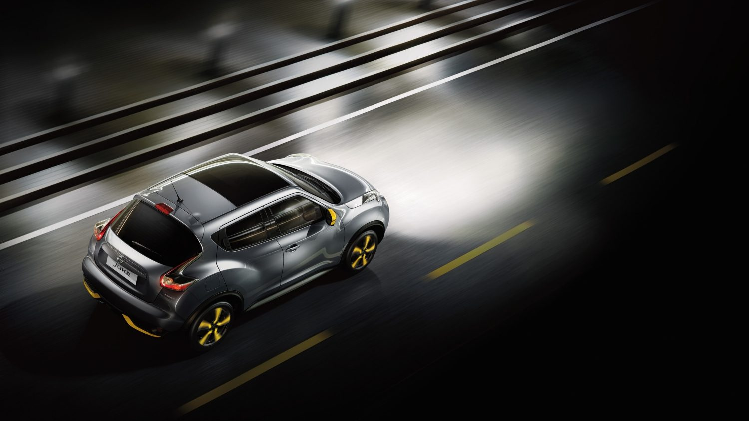 Compact & mini SUV design - grey top view | Nissan Juke