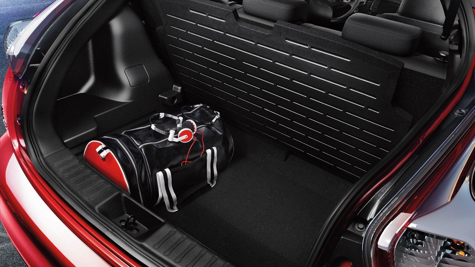 Nissan JUKE— разместим багаж с умом