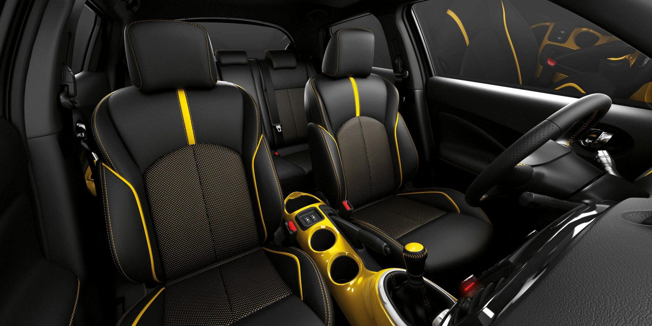 Nissan JUKE— комфорт— сиденья с подогревом
