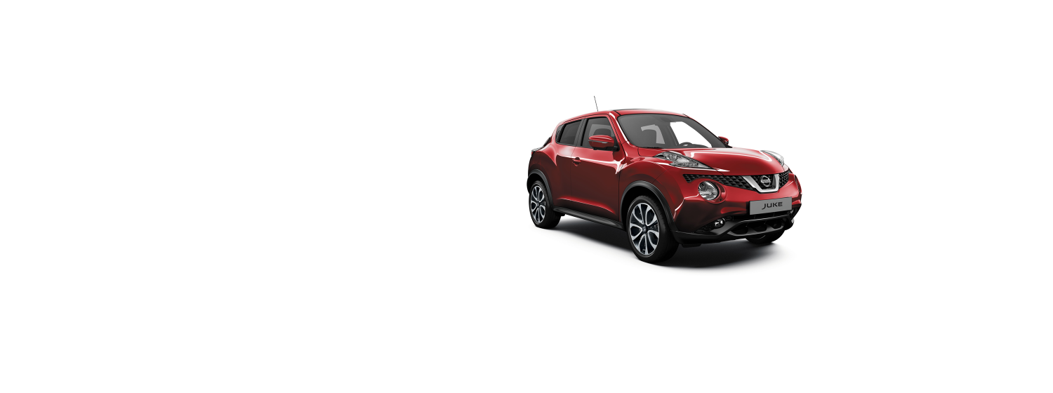 Nissan Juke - New Red