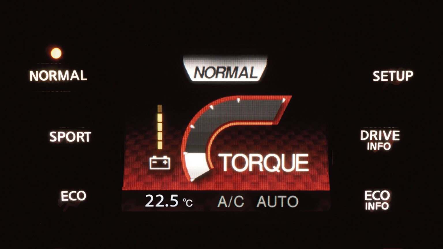 Nissan Juke - Dynamic Control System - normal mode