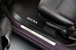 Nissan Micra - Interior - Illuminated entry guards