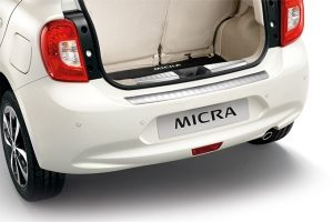 Nissan Micra - Interior - Trunk entry guards
