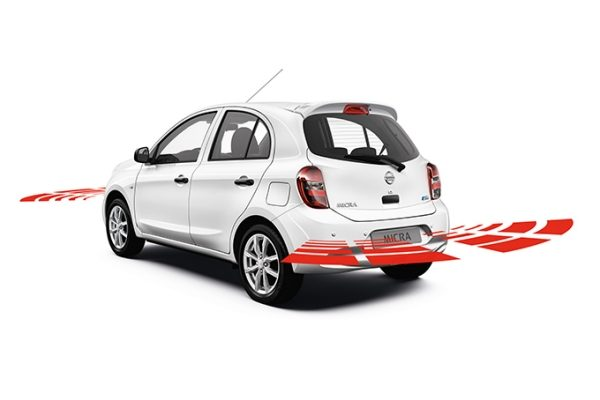 Nissan Micra - Safety - Front and rear parking system