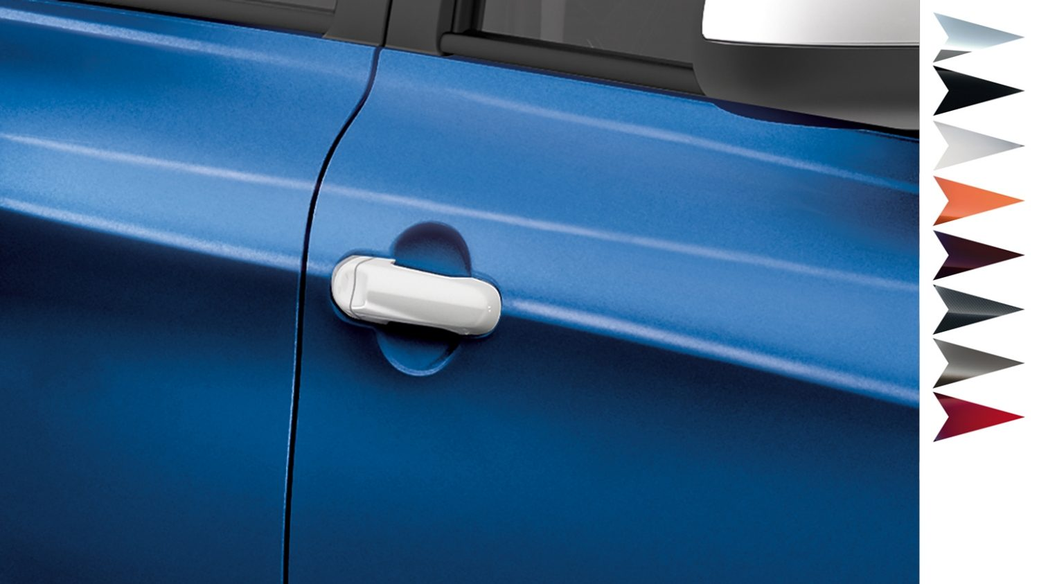Nissan Micra - Personalisation - Door handle covers London white