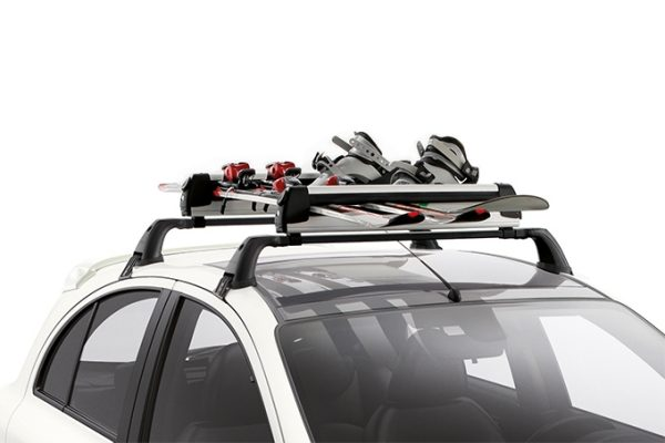 Nissan Micra - Transportation - Ski carrier 3 pairs