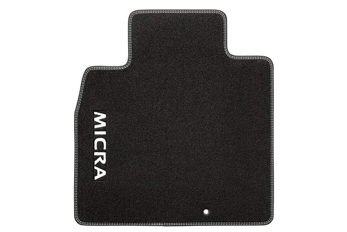 Nissan Micra - Personalisation - Velours mats London white
