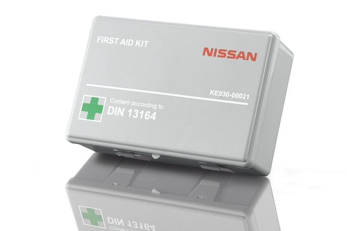 Nissan Micra - Safety - First aid kit