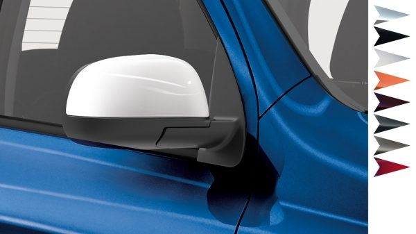 Nissan Micra - Personalisation - Mirror caps London white